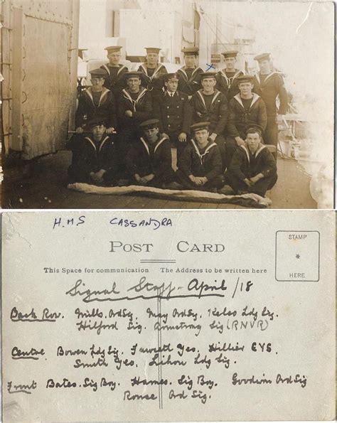 royal navy world war  chief yeoman  signals george