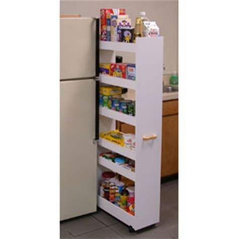 Roll Out Cabinet Drawers: Thin Man Pantry Cabinet 4036