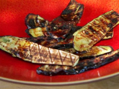 grilled japanese eggplant recipe bobby flay food network