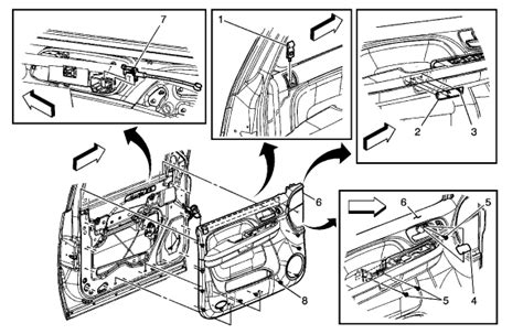 07 Yukon Door Wiring Diagram by How To Remove The Inner Door Panel On A 2007 Gmc Yukon Xl