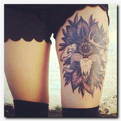 amazing leg tattoo ideas  girls trending  tattoo ideas tattoos skull thigh tattoos