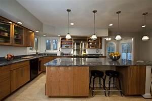 cuisines ouvertes avec bar best adoptant les couleurs With meubler une petite cuisine 6 comment meubler votre cuisine semi ouverte archzine fr