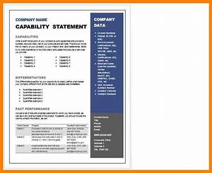 8 capability statement template word dialysis nurse With capabilities statement template