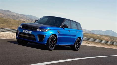 range rover svr 2018 range rover sport svr gets an early reveal the