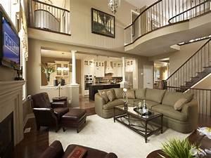 home elegant furniture model home living room decorating With living room home decor ideas 2