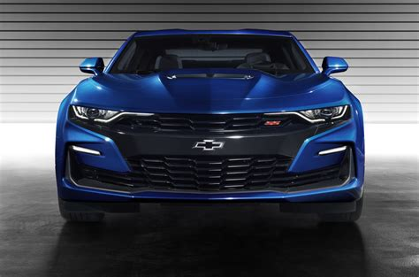 Chevy Debuts A Big Design Refresh For The 2019 Camaro