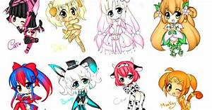 Cute Anime Animal People Characters