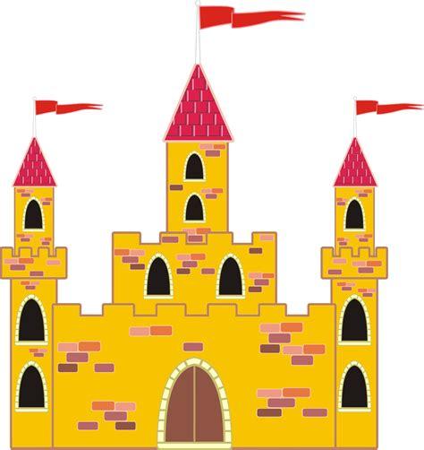 Castle Clipart Castle Clip Image Black And White