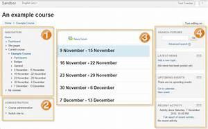 Course homepage - MoodleDocs