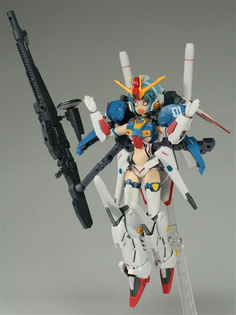 full review ms girl armor girls project  gundam