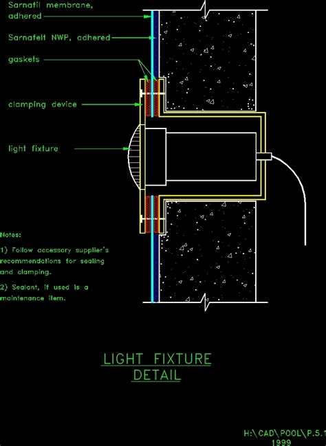 details  swimming pool dwg detail  autocad designs cad