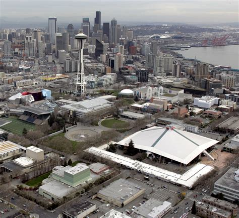 city brushed  feasibility  nhl nba  keyarena