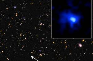 Far Out! Galaxy Measurement Sets a Record for Distance ...