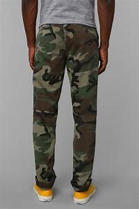 Lyst - Urban Outfitters Rothco Woodland Camo Chino Pant in Green for Men
