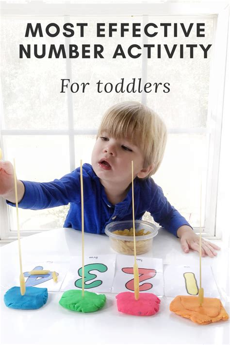 counting activity for toddlers and parenting