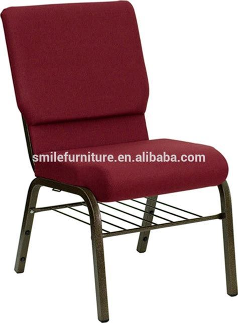 popular padded stackable church chair used in theater