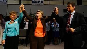 Hillary Clinton and Joe Manchin Photos Photos - Hillary ...
