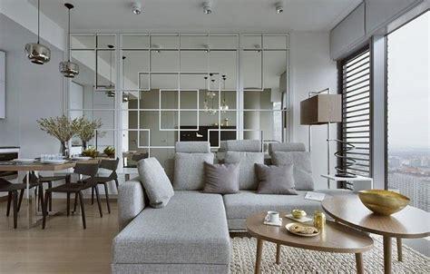 wohnungseinrichtung ideen schlafzimmer farbe wohnungseinrichtung ideen wohnzimmer spiegelwand graues