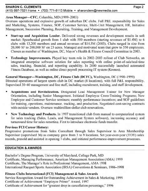 resume cover letter via email sle resume sle for