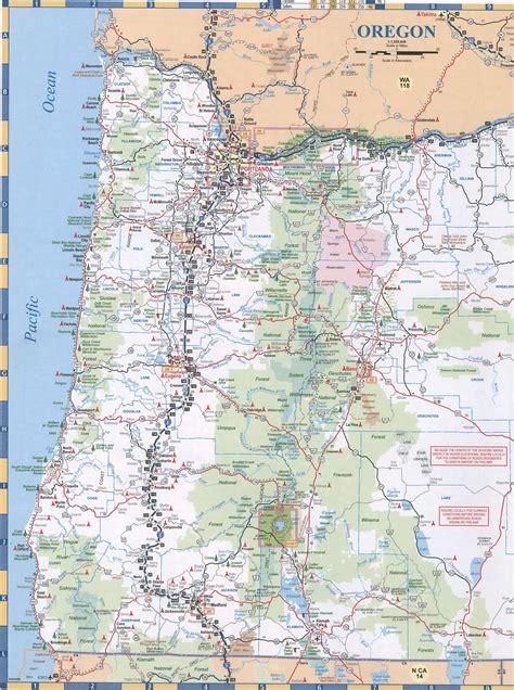 maps  oregon