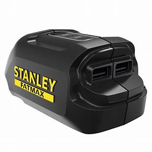 Stanley Fatmax Battery Charger Instructions