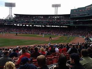 Fenway Park Bleacher Seating Chart Fenway Park Section Loge Box 162 Home Of Boston Red Sox