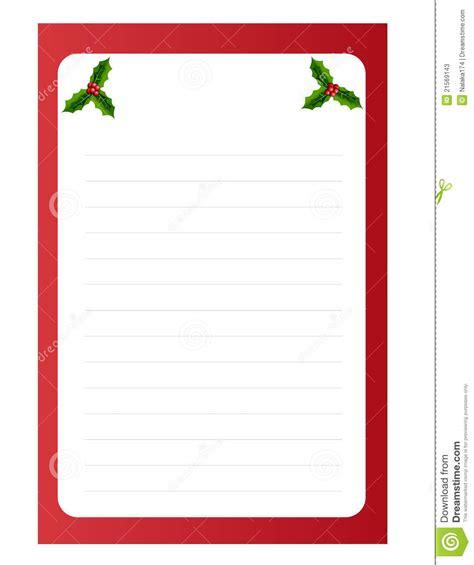 blank template  christmas  card stock vector