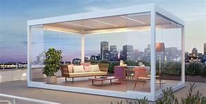 Pavillon protection solaire avec stobag for Pavillon terrasse