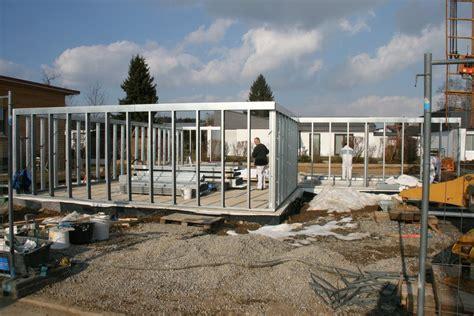 Haus Aus Stahl by Bau Eines Stahl Leichtbauhauses Stuckateur Mauer