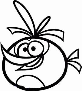 Orange Bird Angry Birds Coloring Pages | Harry's favs ...