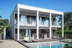 Haus Mit Flachdach Bauen : haus mit auskragendem flachdach schw rerhaus ~ Sanjose-hotels-ca.com Haus und Dekorationen