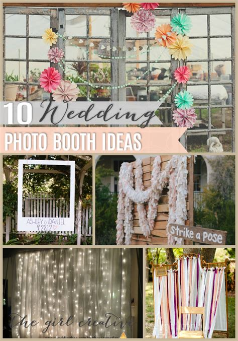 10 diy wedding photo booths future wedding stuffs diy