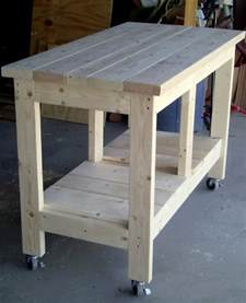 Kitchen Island Wood Workbench