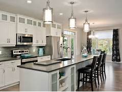 Photos Of Kitchens With Pendant Lights by Kitchen Pendant Lights Traditional With Baker S Racks
