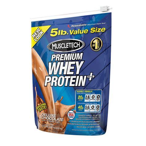 100% Premium Whey Protein Plus 5 lbs (2267g)   Protein   Muscletech