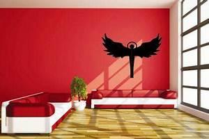 Wandtattoo Auf Rauputz : wandtattoo engel kaufen bei ~ Michelbontemps.com Haus und Dekorationen
