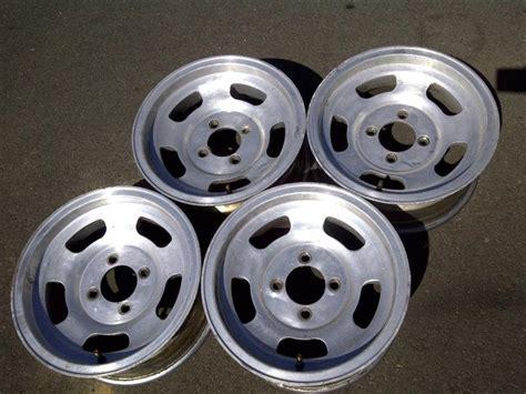 Datsun 240z Rims by Buy American Racing Rims Mag Wheels Slotted Mags Slots