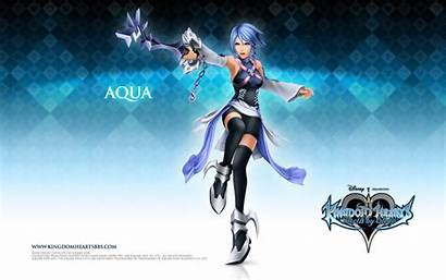 Aqua Hearts Kingdom Sleep Birth Kh Anime