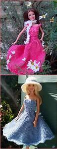 crochet fashion doll clothes free patterns