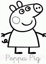 Pig Peppa Coloring Printable Colouring Template Sheets Disney Number Stitch Angel Birthday Worksheets Dibujos Pdf Comments Library Own Visit Colorir sketch template