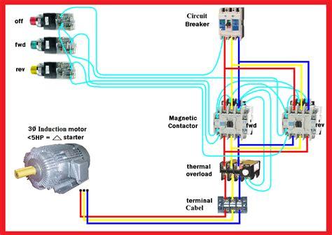 motor  reverse wiring diagram