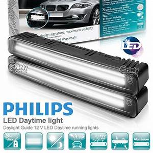 100  Authentic Philips Car Led Daylight Guide Drl Daytime