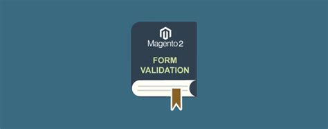 Maybe you would like to learn more about one of these? A Complete Guide On Magento 2 Form Validation