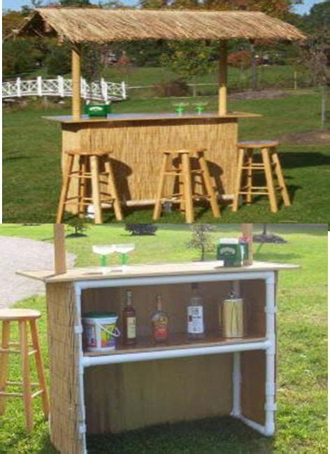 Make A Tiki Bar by Tiki Hut Build Your Own And Pipes On