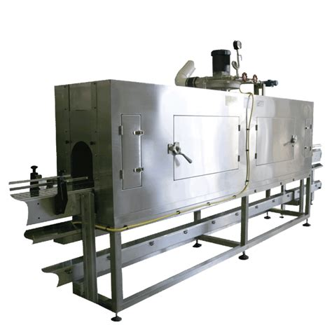 tripack st shrink label steam heat tunnels professional packaging systems