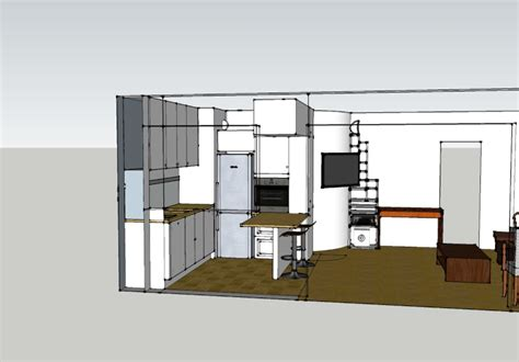 plan cuisine ouverte salle manger plan de cuisine ouverte sur salle a manger idee cuisine