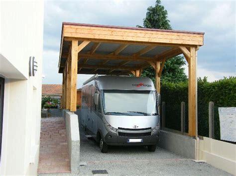 carport abri camping car carport bois nea concept