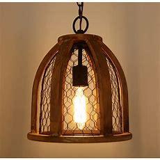 Vintagestyle Farmhouse Kitchen Pendant Light, Antique