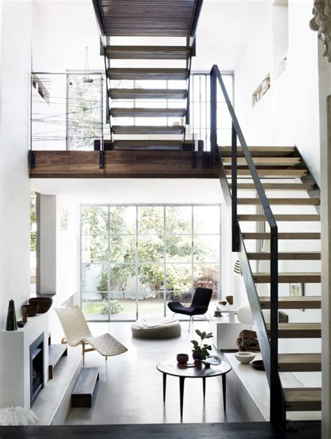 open space stairs zo combineer je verschillende soorten hout in je interieur roomed