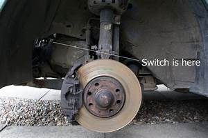 Reverse Light Switch Removal